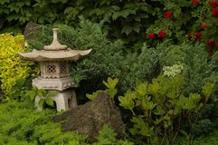 japoński ogród Obraz Royalty Free