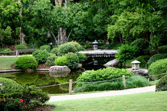 japoński ogród Zdjęcia Royalty Free