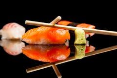 Japoński owoce morza suszi Fotografia Royalty Free