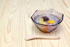Japoński owocowy poncz Obraz Royalty Free