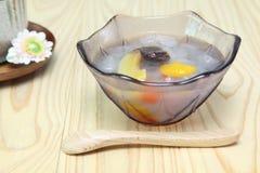 Japoński owocowy poncz Obrazy Royalty Free