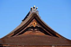 Japoński poszycie dach Obraz Royalty Free