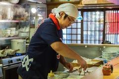 Japoński Ramen szef kuchni Zdjęcie Royalty Free