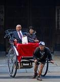 japoński riksza Zdjęcie Stock
