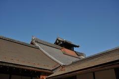 Japoński rocznika dach Obraz Royalty Free