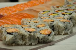 japoński sushi fotografia royalty free