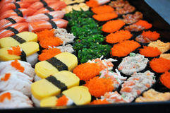 Japoński suszi. Obrazy Stock