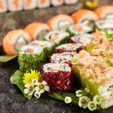 Japoński suszi set Fotografia Stock