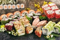Japoński suszi set Obraz Stock