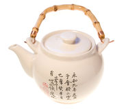 japoński teapot obraz stock