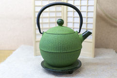 Japoński Teapot Fotografia Stock