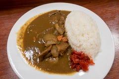 Japoński wieprzowina curry Zdjęcia Stock