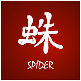 japońskie kanji Zdjęcie Royalty Free