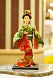 japońskie lalki Obrazy Stock