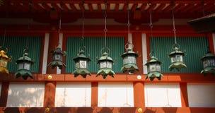 japońskie lampiony Zdjęcia Royalty Free
