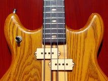Japońskiego rocznika basowa gitara Fotografia Royalty Free