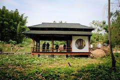 Japońskiego stylu dom Fotografia Royalty Free
