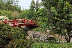 Japońskiego stylu most Obrazy Stock