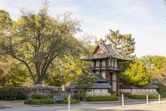 Japończyka Ogrodowy pawilon w Fort Worth Obrazy Stock