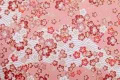Japończyka wzoru papier Obraz Royalty Free