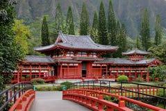 Japonés Byodo-en el templo Fotografía de archivo libre de regalías