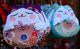 Japonés Cat Toys Imagen de archivo libre de regalías