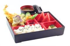 Japonés famoso Bento Box Foto de archivo libre de regalías