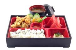 Japonés famoso Bento Box Imágenes de archivo libres de regalías