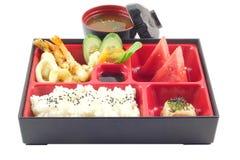Japonés famoso Bento Box Foto de archivo