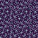 Japonés Shell Ornamental Vector Background Art Deco Floral Seamless Pattern Textura decorativa geométrica libre illustration