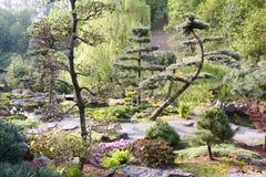 ³ japonés w de Jarkà del jardín Foto de archivo libre de regalías