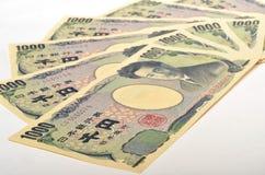 Japonés 1000 yenes Fotos de archivo libres de regalías
