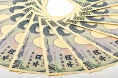Japonés 1000 yenes Imagenes de archivo