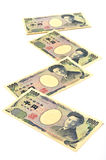 Japonés 1000 yenes Foto de archivo libre de regalías