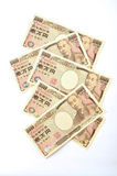 Japonés 10000 yenes Foto de archivo libre de regalías