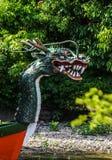 Japonês Dragon Boat imagens de stock