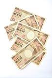 Japonês 10000 ienes Foto de Stock Royalty Free