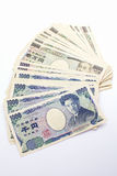 Japonês nota de 1000 bancos dos ienes Imagem de Stock