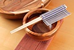 Japonês que janta recursos Foto de Stock