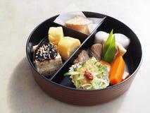 Japonês saudável Bento imagens de stock