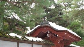 Japonês tradicional Red Roof Foto de Stock