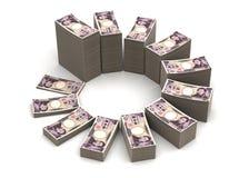 Japonês Yen Chart Imagem de Stock Royalty Free