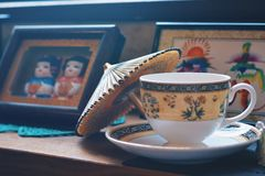 Japon coffee royalty free stock image