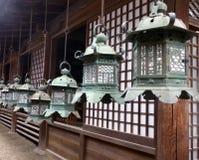 JAPON nara Висок Kasuga Taisha Стоковые Фото