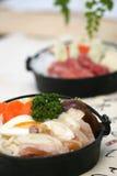 Japonais délicieux de friction préparé Photos stock