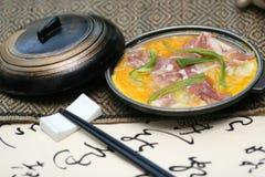 Japonais délicieux de friction préparé image libre de droits