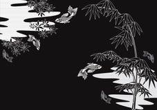 Japonais de conception Images libres de droits