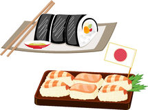 Japonais de nourriture Photographie stock libre de droits