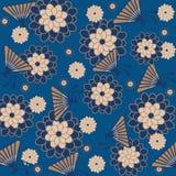 Japonais floral de fond Images libres de droits
