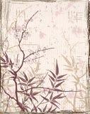 Japonais floral de fond Photographie stock libre de droits